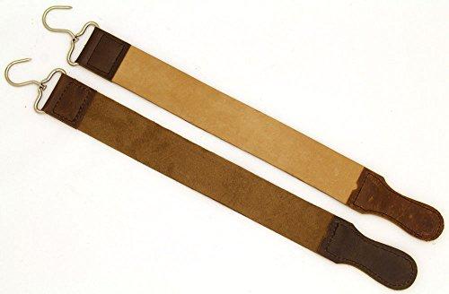 Snake Eye Tactical Straight Razor Strop Leather Sharpening Strap 20' Barber Strop ( 1PC )