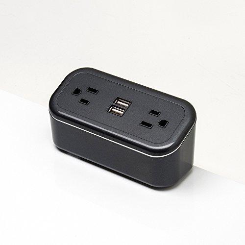 Brandstand   CubieMini   2 USB Ports   2 Tamper Resistant Outlets...