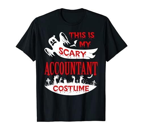 Disfraz de contador de miedo para fiesta de Halloween Fantasma divertido Camiseta