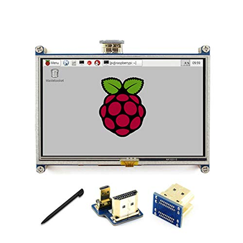 5 inch LCD 800*480 Resistive Touch Screen Display HDMI interface