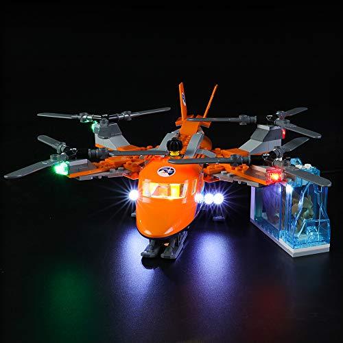 LIGHTAILING Licht-Set Für (City Arktis Frachtflugzeug) Modell - LED Licht-Set Kompatibel Mit Lego 60193(Modell Nicht Enthalten)