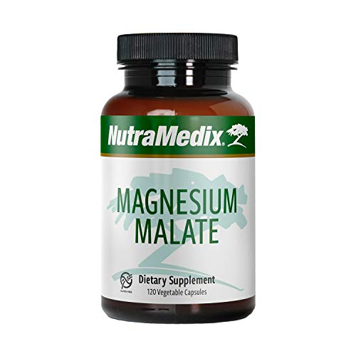Nutramedix Magnesium Malate - 120 Vegicaps by Nutramedix