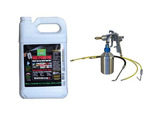 Corrosion Free Rust Cure Formula 3000 1G Jug with Deluxe Applicator Gun