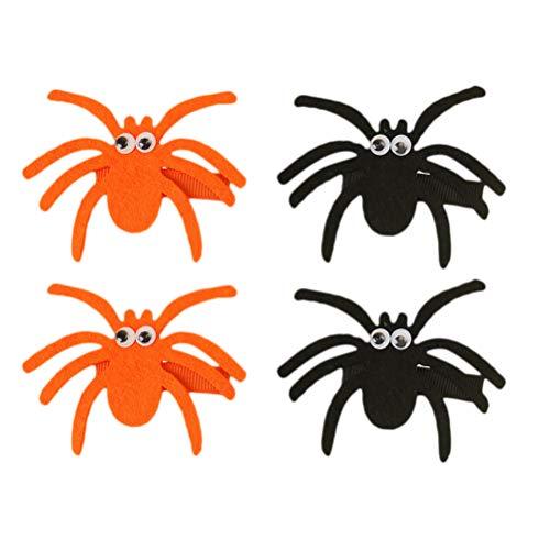 Horquillas para el pelo de PrettyZOOM, hechas a mano, para niños, para el pelo, para niños, 6 x 6 cm