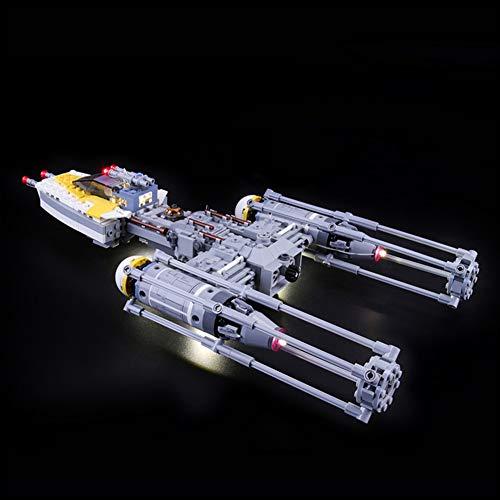 Nlne Conjunto De Luces para (Star Wars Y-Wing Starfighter) Modelo De Construcción De Bloques - Kit De Luz LED Compatible con Lego 75172 (NO Incluido En El Modelo)
