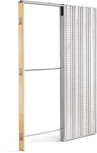 Einbauelemente für Schiebetüren mit Zarge Scrigno Gold Putz 90x210