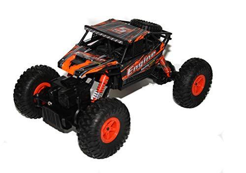 Unbekannt RC 2,4 Ghz Rock Crawler Rock Star 4WD Allrad ferngesteuertes Auto Monster Truck Allrad - Top Geländegängigkeit - Pistolenfernbedienung
