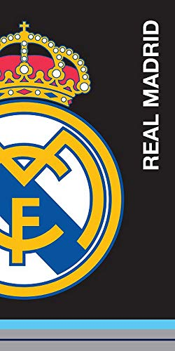 Real Madrid Toalla De Playa 100% Poliéster 140 x 70 cm (RM182077)