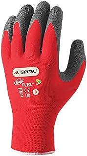 Skytec guantes sky19-m Ninja Flex guantes, tamaño: M, rojo/