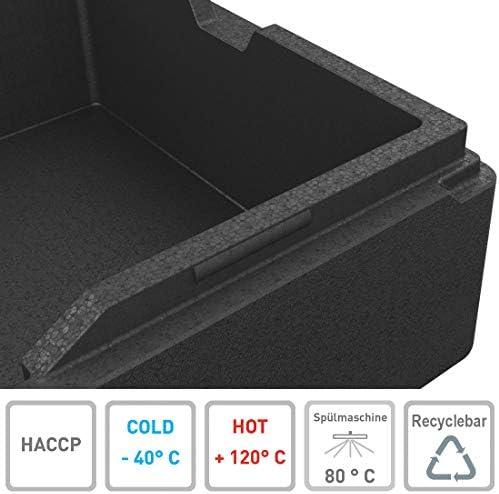 KÄNGABOX® Expert GN 1/1. La Caja isotérmica para Profesionales. Alta reistencia térmica al conservar en frío o en Caliente.: Amazon.es: Industria, empresas y ciencia