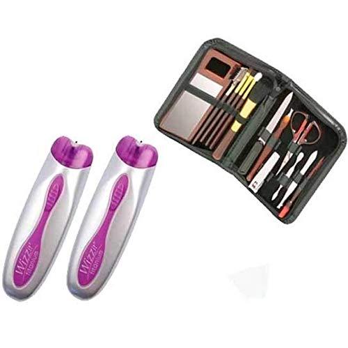 Wizzit-Epil Touch Hair Epilierer Haarentferner + Maniküre-Geschenkset