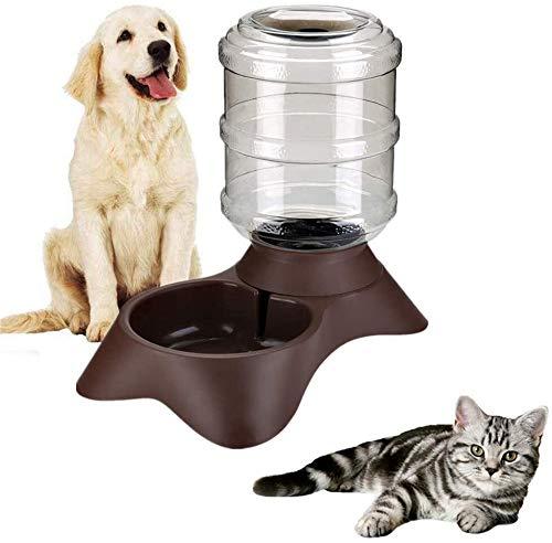 Perro mascota de almacenamiento alimentador comida for gatos dispensadores de alimentos for mascotas envase de alimento del gato agua de la taza del alimentador del agua del alimento del alimentador d