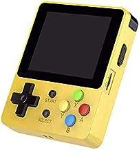 Ocamo LDK 2.6inch Screen Mini Handheld Game Console Nostalgic Children Retro Game Mini Family TV Video Consoles Yellow