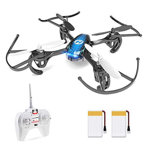 Holy Stone HS170 Mini Drone for Kids & Adults, RC Nano Quadcopter with 2 Batteries, Altitude Hold, Headless Mode, 3D Flips, One Key Take-Off and Speed...