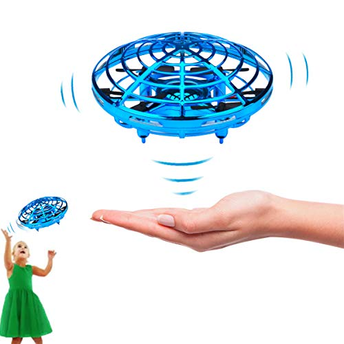 SENCLE Hand Operated Drones Flying Toys for Kids or Adults, Mini Helicopter Drone Toy for Boys, Easy Indoor UFO Flying Ball Drone Toys for 4,5,6,7,8,9,10,11,12 Years Old Boys or Girls