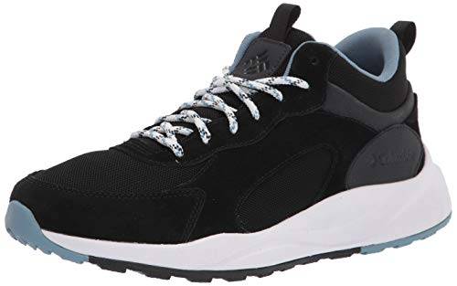 Columbia womens Pivot Mid Wp Hiking Shoe, Black/Dark Mirage, 6.5 US