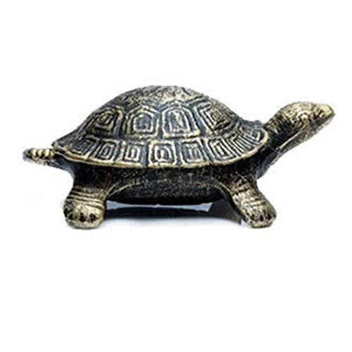 YLJJ Retro Nostalgische Cast-Iron schildpad asbak met deksel op de rug kan worden geopend schattige vorm kan worden gebruikt om de koffie tafel bureau multi-Purpose asbakken roken