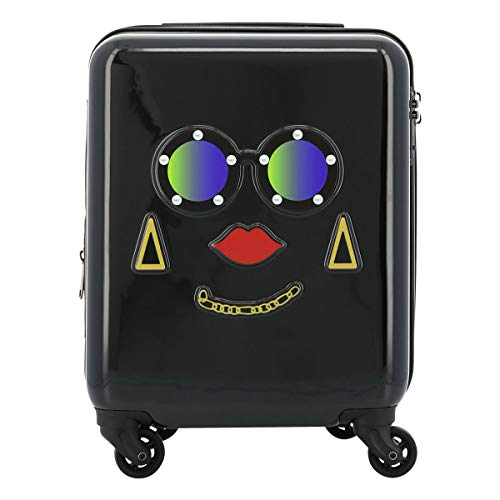 [スパイラルガール] スーツケース 機内持ち込み LCC対応 20(24)L 45.5cm 2.6kg フェイスキャリー レディース ブラック