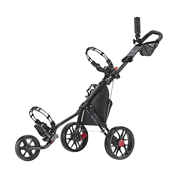 Caddytek CaddyLite 11.5 V3 3 Wheel Golf Push Cart – SuperLite Deluxe, Lightweight,...