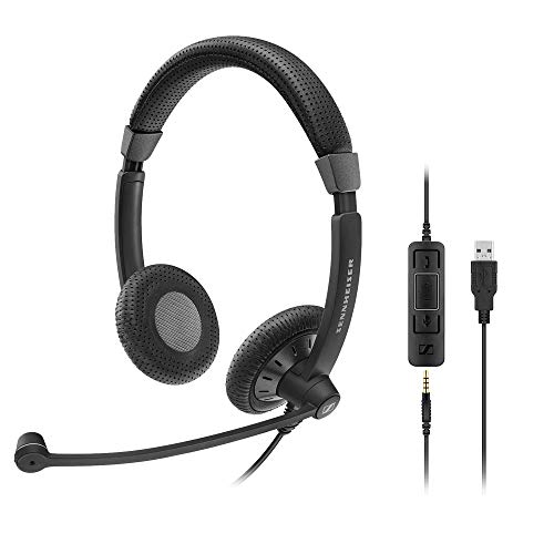 Sennheiser SC Double-Sided Business Headset SC 75 USB MS