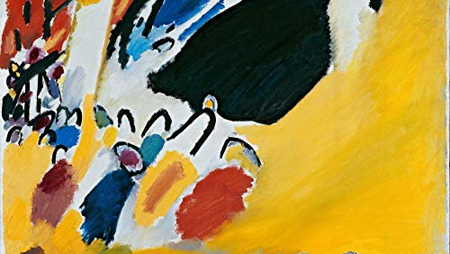 Puzzles para Adultos Puzzle de 500 Piezas   Impresión de Kandinsky Rompecabezas Familiar Descompresión para niños Adultos Adolescentes