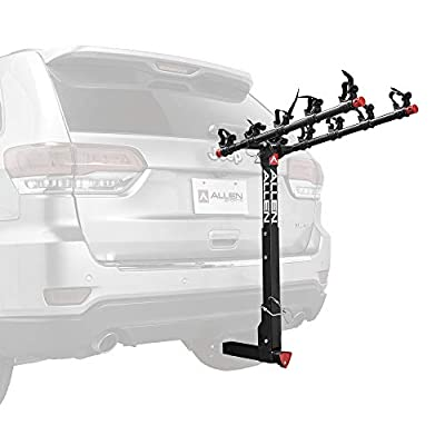 Allen Sports Deluxe Locking Quick Release 5-Bike Carrier for 2 in. Hitch, Model 552QR