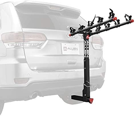 Allen Sports Deluxe Locking Quick Release 5 Bike Carrier for 2 in Hitch Model 552QR Black product image