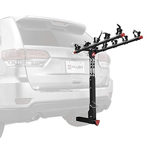 Allen Sports Deluxe Locking Quick Release 5-Bike Carrier for 2 in. Hitch, Model 552QR , Black