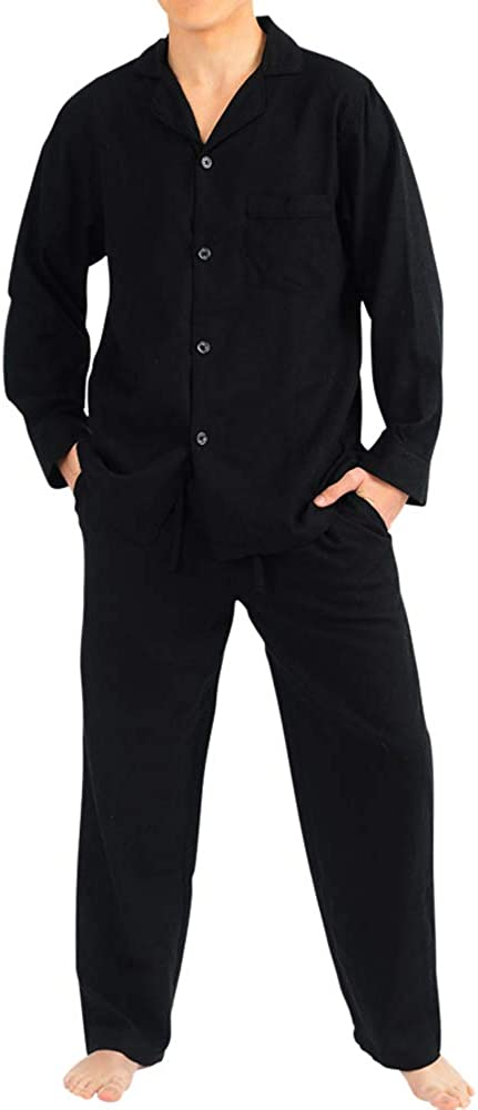 NORTY Flannel Pajamas for Men û Set of Top and Pants/Bottoms Soft Durable Cotton Blend