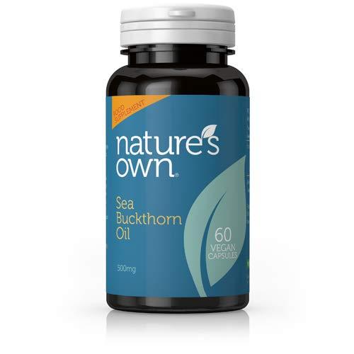 Nature's Own Sea Buckthorn Oil- 60 Vegan Capsules