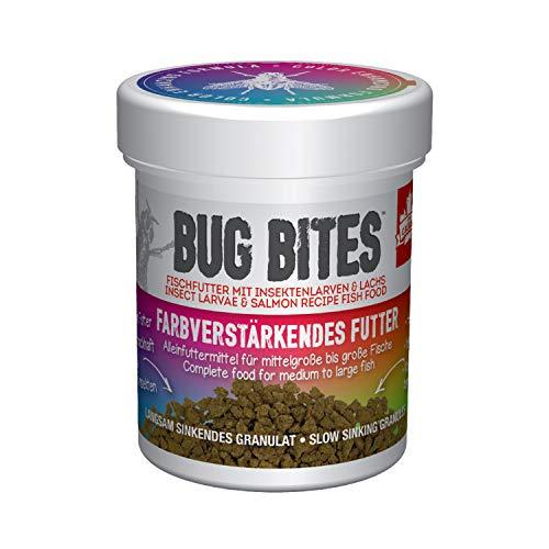 Fluval Bug Bites Alleinfutter für Süßwasserfische, farbverstärkendes Futter, M-L, 1er Pack (1 x 45 g)