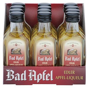 Bad Apfel, 41% vol. 12 x 0,02 L