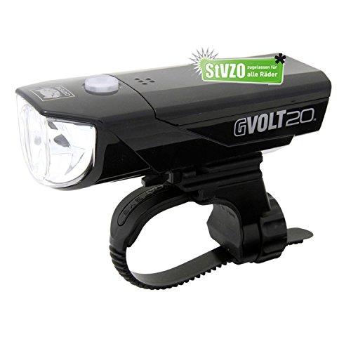 Fahrrad-Beleuchtungskit Cateye GVolt 20 Verschiedene Optionen alle mit STVO Zulassung, (Cateye GVolt 20, ohne Rücklicht)