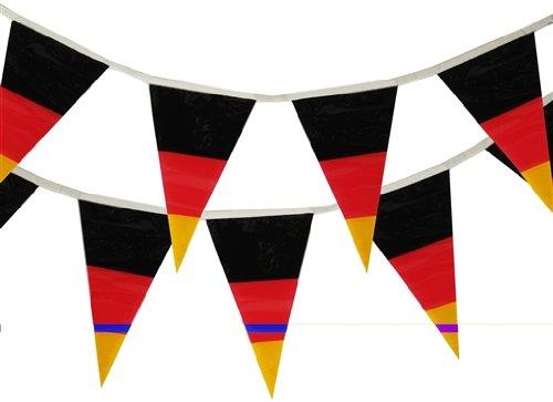19399 - PAPSTAR - Wimpelkette 4 m Deutschland wetterfest