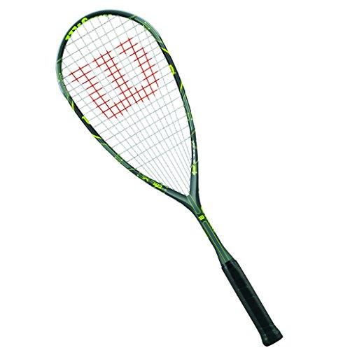 Wilson Raqueta de Squash Unisex, para Principiantes, Force 165, WRT911830, Gris/Plata