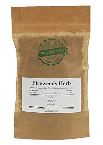 Schmalblättriges Weidenröschen Kraut / Epilobium Angustifolium L / Fireweeds Herb # Herba Organica # Stauden-Feuerkraut, Waldweidenröschen (50g)