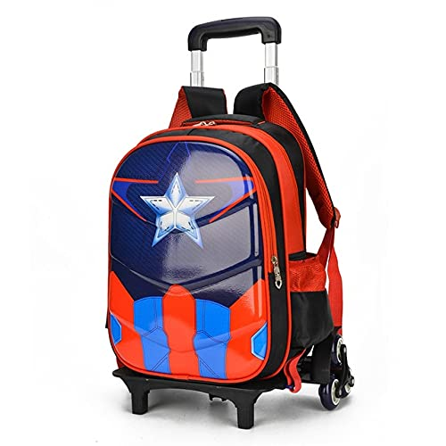 Trolley Cabina Bagagli bagagli bagagli da viaggio 20-35L Students School Bag Scale Scale Stili Valigia Bambini Backpack Boy Cancelleria Borsa Valigia Bagaglio A Mano ( Color : 3 , Luggage Size : 18 )