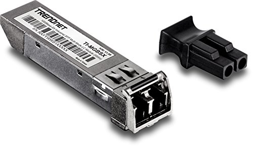 TRENDnet 1000Base- SX Industrial SFP to RJ45 Multi-Mode LC Module, TI-MGBSX, Up to 550m (1,804 Ft), IEE 802.3z, ANSI Fiber Channel, Data Rates up to 1.25Gbps, LC-Type Duplex, Lifetime Protection