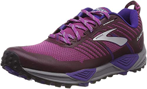 Brooks Cascadia 13, Chaussures de Trail-Running pour Femme, Violet (Aster/Fig/Purple 531), 36...