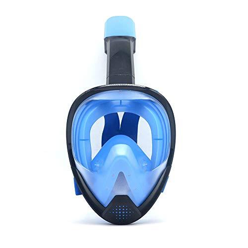 DAWWFV Folding Tauchmaske for freies Atmen 180 ° Große Ansicht Volltrocken Schnorchel Maske Geeignet for Männer, Frauen, Erwachsene, Jugendliche (Color : C, Size : L/XL)