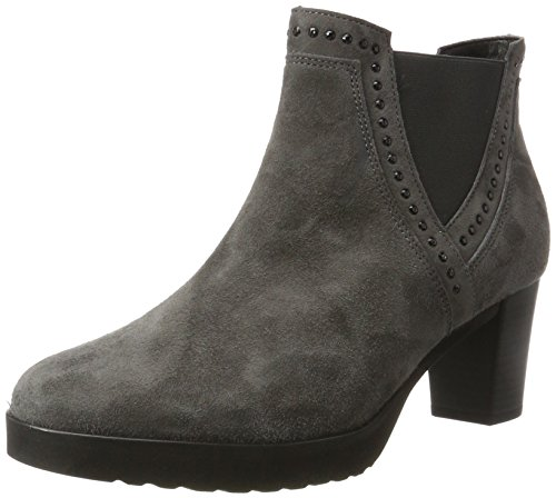 Gabor Shoes Damen Basic Stiefel, Grau (19 Dark-Grey), 39 EU