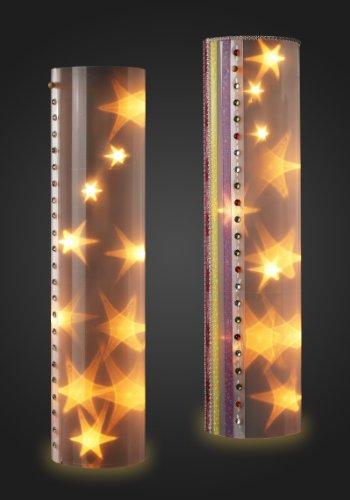 Sternentraum Design-Lampe 60 cm, hoch, 2 teilig, komplett, ohne Lichter