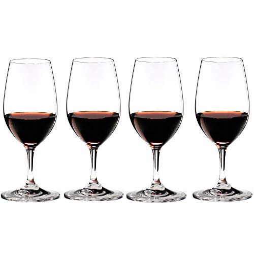 Riedel Bar Vinum Crystal Port Wine Glass, Set of 4 Crystal Glass Sherry Glass
