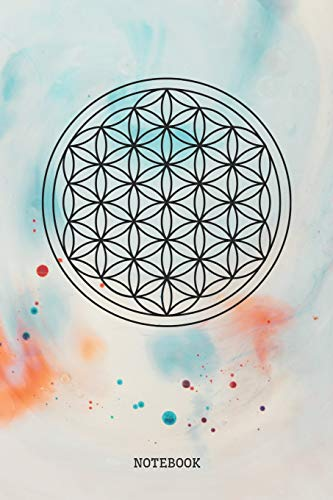Notebook: Sacred Geometry Symbol Planner / Organizer / Lined Notebook (6' x 9')