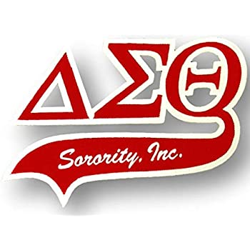 Delta Sigma Theta Sorority Twill Letter Set-New!