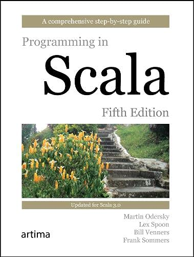 Programming in Scala Fifth Edition