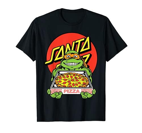 Santa Cruz Ninja Pizza Uomo Maglietta