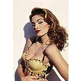 Sanwooden Schöne Cindy Crawford Poster Mode Vogue Modell