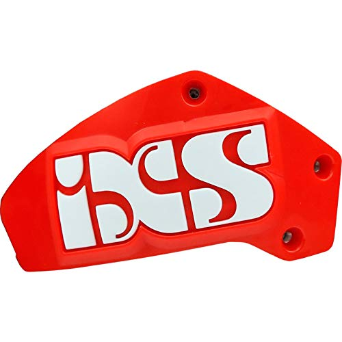 IXS Schulter-Motorrrad-Protektor Schleifer Set Schulter RS-1000 weiß/weiß/rot, Unisex, Sportler, Sommer, Einheitsgröße