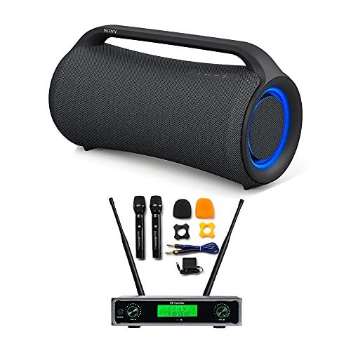 Sony XG500 X-Series MEGA BASS Portable Bluetooth Wireless Speaker (SRSXG500) with Knox Gear True Duo...